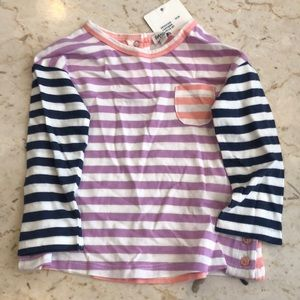 Colorful striped top by Splendid